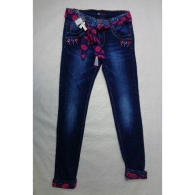 170-es textilöves lány farmernadrág - ÚJ