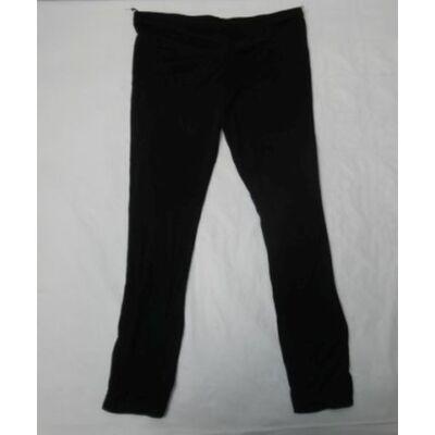 128-as fekete leggings - ÚJ