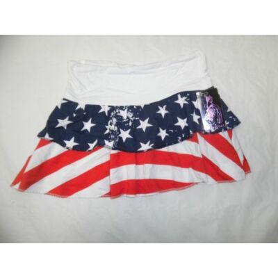 116-os amerikai zászlós pamutszoknya - ÚJ