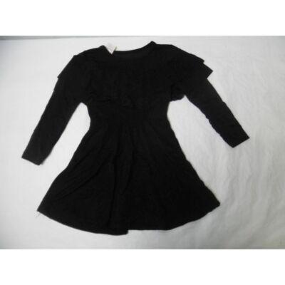 116-os fekete alkalmi ruha - ÚJ