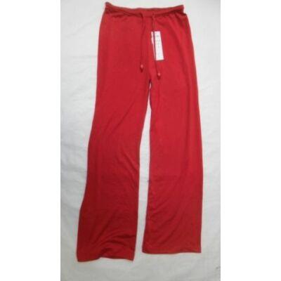 146-os piros vékony lány tréningalsó - ÚJ