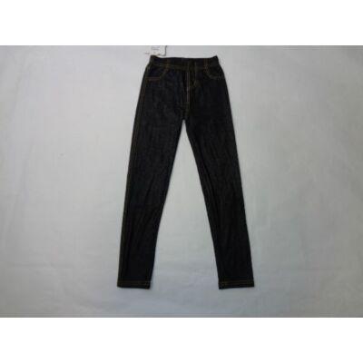 110-es szürkésfekete leggings - ÚJ