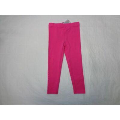 98-as rózsaszín oldalt strasszos leggings - Kiki & Koko - ÚJ