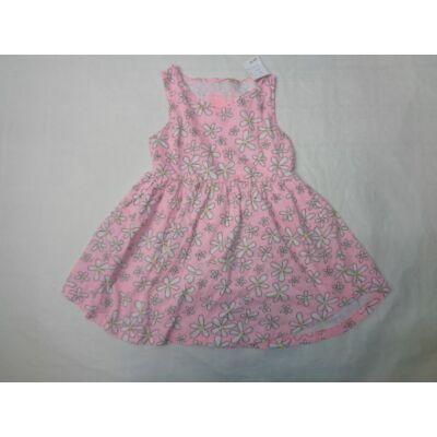 98-as rózsaszín virágos ujjatlan ruha - Young Dimension