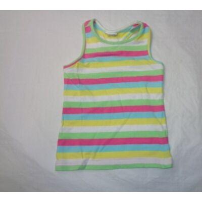 98-as színes csíkos ujjatlan póló - Topolino