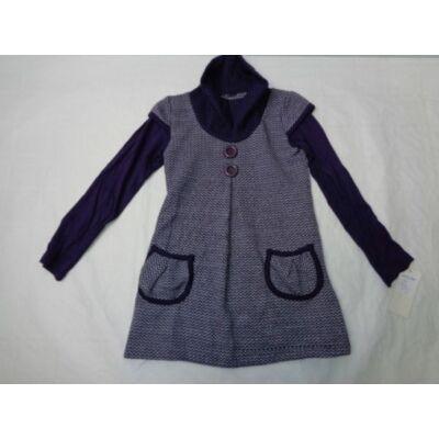 116-os lila kötött ruha - ÚJ