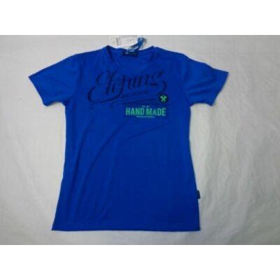 146-os kék feliratos lány póló - ÚJ