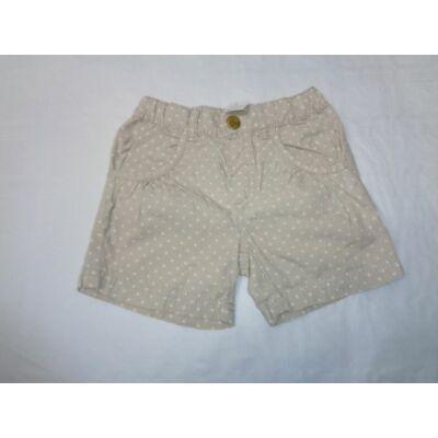 92-es drapp pöttyös lány short - H&M