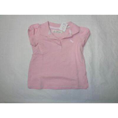 80-as rózsaszín piké póló - H&M