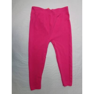 158-164-es pink elasztikus térdig érő leggings - ÚJ