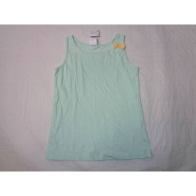 122-es zöld masnis ujjatlan póló - C&A
