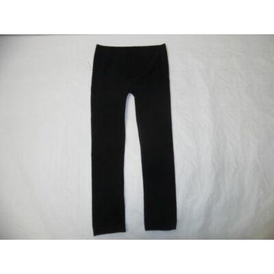 110-116-os fekete leggings - ÚJ