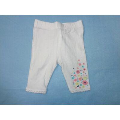 86-os virágos térdig érő leggings - In Extenso
