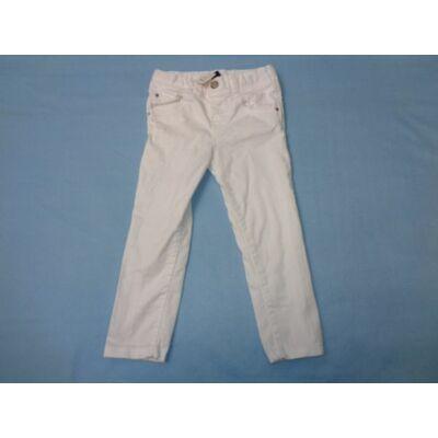 92-98-as fehér lány farmernadrág - Zara