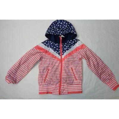 134-140-es csillagos-csíkos átmementi kabát - Y.F.K