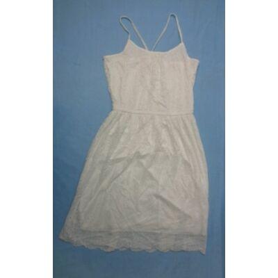 158-164-es fehér csipkeruha - H&M