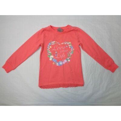 122-es piros virágos pulóver - Dopodopo