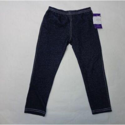 116-os farmer hatású leggings fehér cérnával varrva - ÚJ