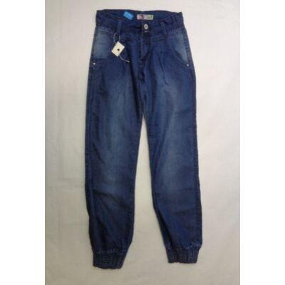 158-as kék vékony laza lány farmernadrág - ÚJ