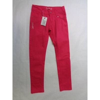 164-es pink vászonnadrág - F&D - ÚJ