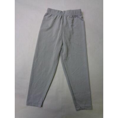 128-as szürke leggings - ÚJ