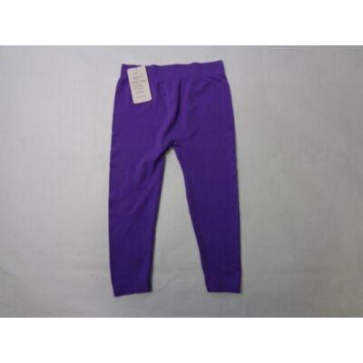 158-as lila térdig érő leggings - ÚJ