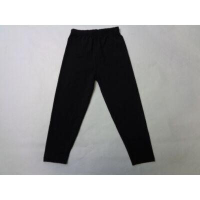 92-98-as fekete leggings - ÚJ