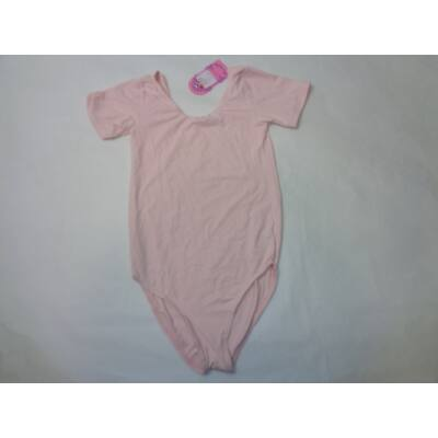 140-146-os rózsaszín rövidujjú tornadressz - ÚJ