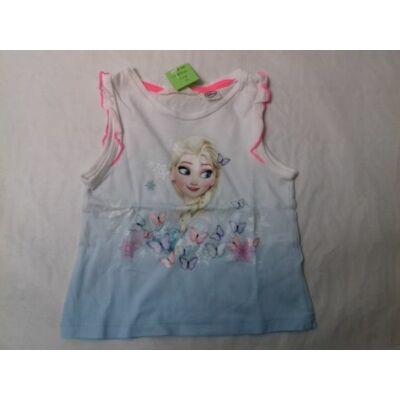 92-es figurás lepkés ujjatlan póló - Jégvarázs, Frozen - H&M