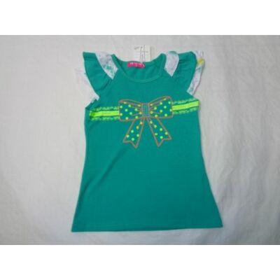98-as zöld masnis póló - ÚJ