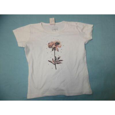 116-os fehér virágos póló - Name It