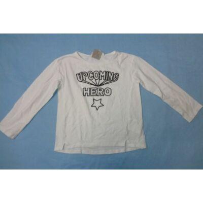 110-116-os flitteres-feliratos lány pamutfelső - H&M