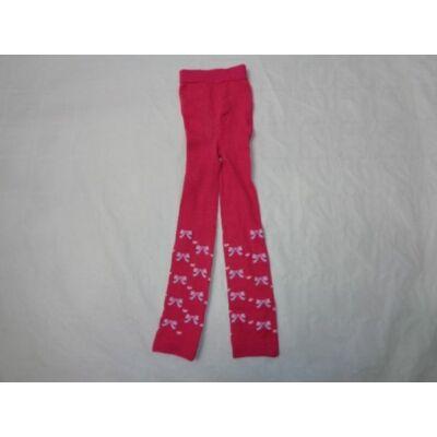 1-2 évesre pink masnis lábfej nélküli harisnya - ÚJ