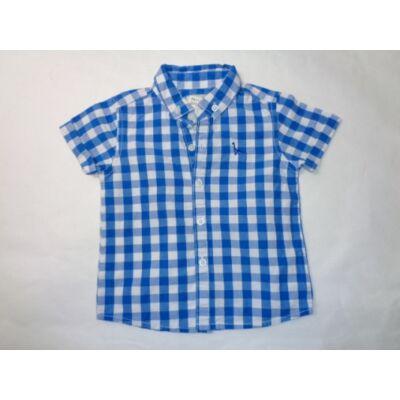 80-as kék-fehér kockás ing - Next