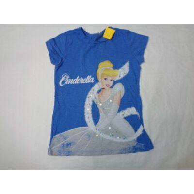 152-es kék flitteres póló - Hercegnők