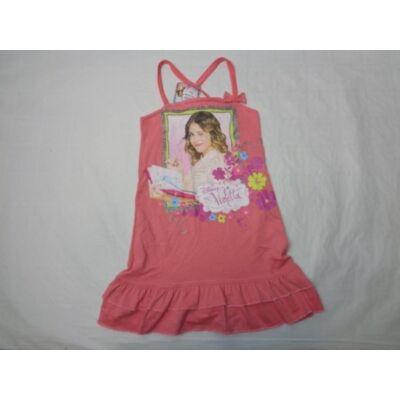 164-es rózsaszínű pántos ruha - Violetta - ÚJ