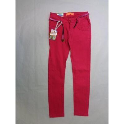 158-as pink sztreccses vászonnadrág - ÚJ
