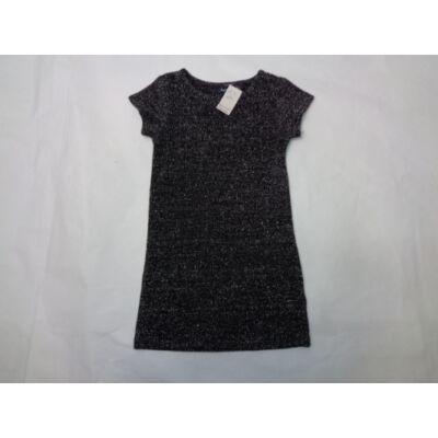 104-es fekete-ezüst csillogó alkalmi ruha - In Extenso