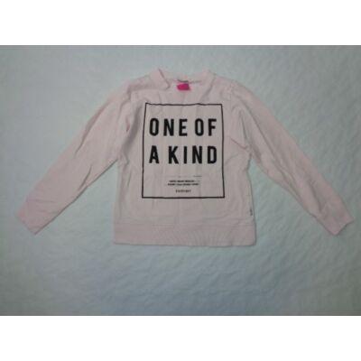 134-140-es rózsaszín feliratos pulcsi - Name It