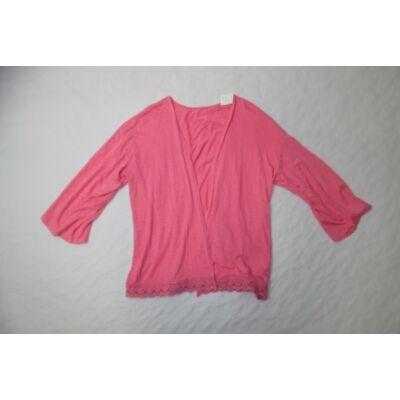 158-164-es pink pamut kardigán - C&A