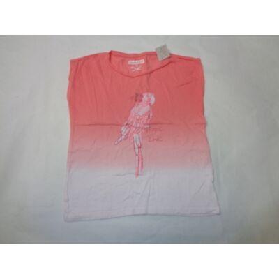 140-es rózsaszín papagájos póló - In Extenso
