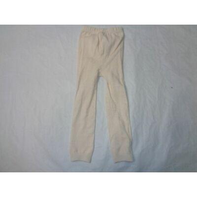 80-86-os törtfehér lábfej nélküli harisnya - ÚJ