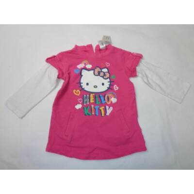80-as rózsaszín duplahatású pulóver - Hello Kitty
