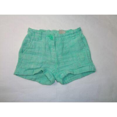 104-es zöld lenes lány short - Next