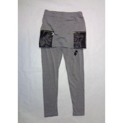 140-es szürke szoknyás leggings