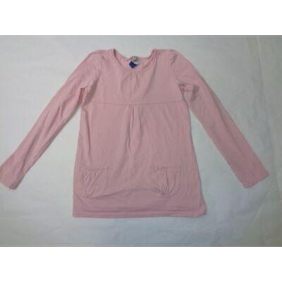 140-es rózsaszín tunika jellegű pamutfelső - TU