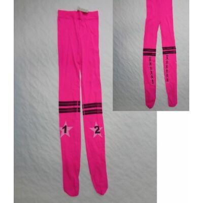 8-10 évesre pink nylonharisnya