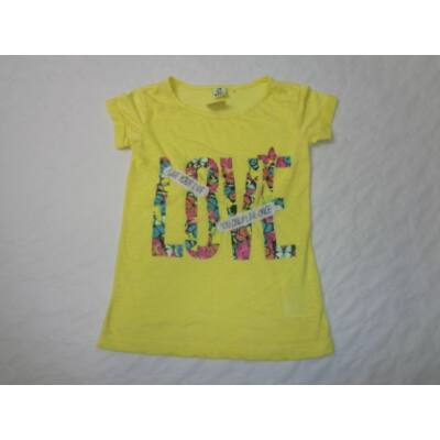 128-as sárga feliratos póló - Y.F.K.