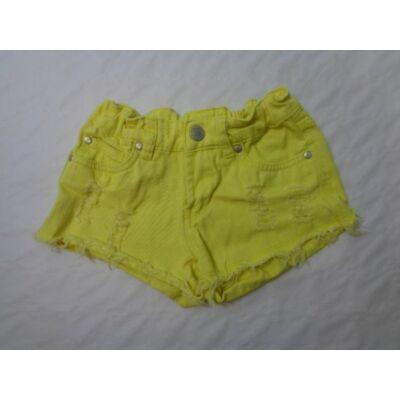 128-as sárga short - Y.F.K