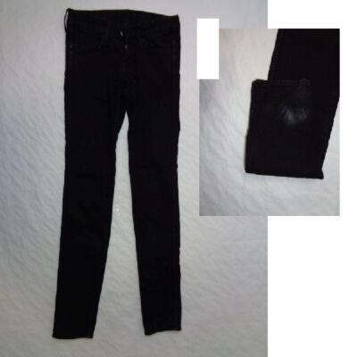 164-es fekete lány farmernadrág - H&M